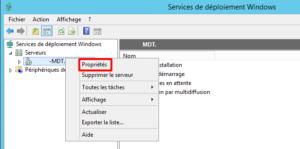 WDS Server Properties